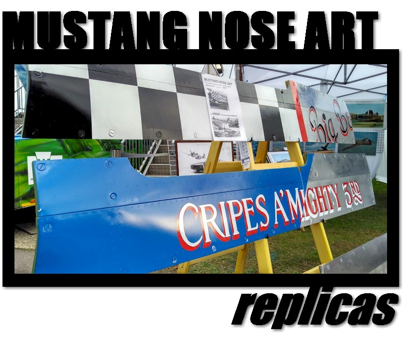 Mustang Nose Art
